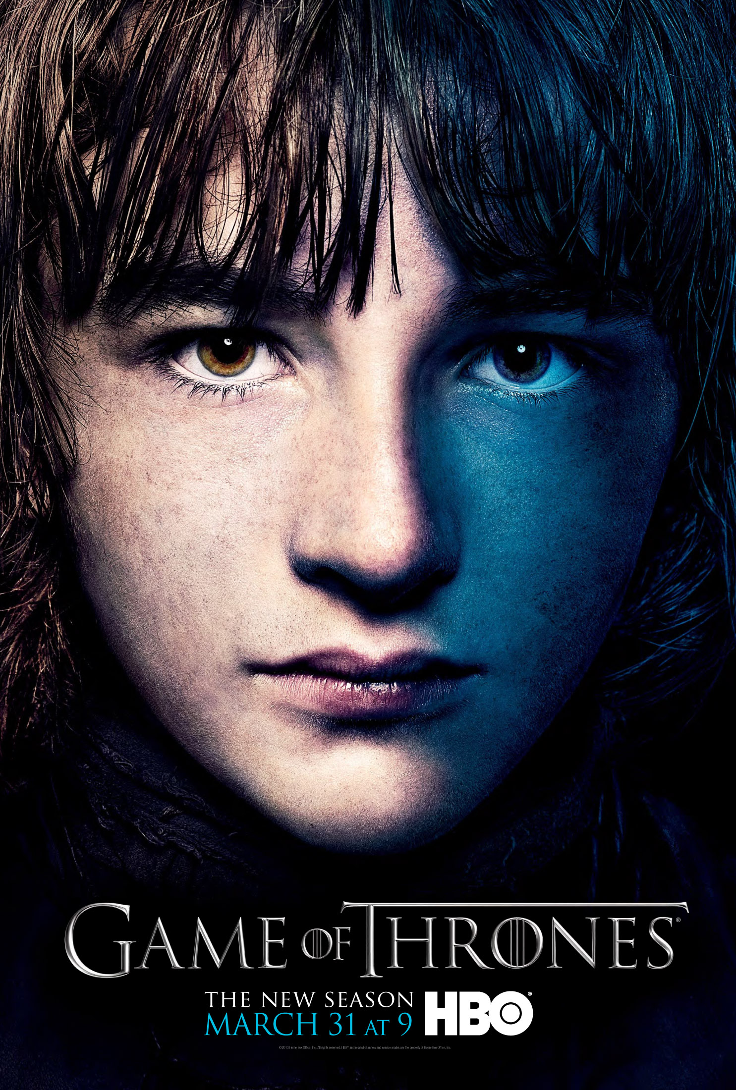 Game Of Trones // posters  GOT3_BranPoster1