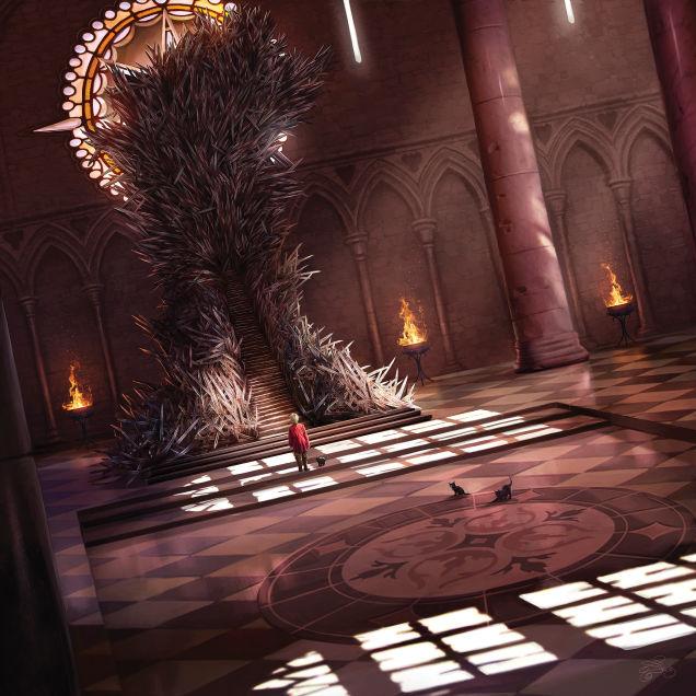 král koťátek