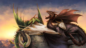sleepy_dragons_by_vesssel-d7dcvos